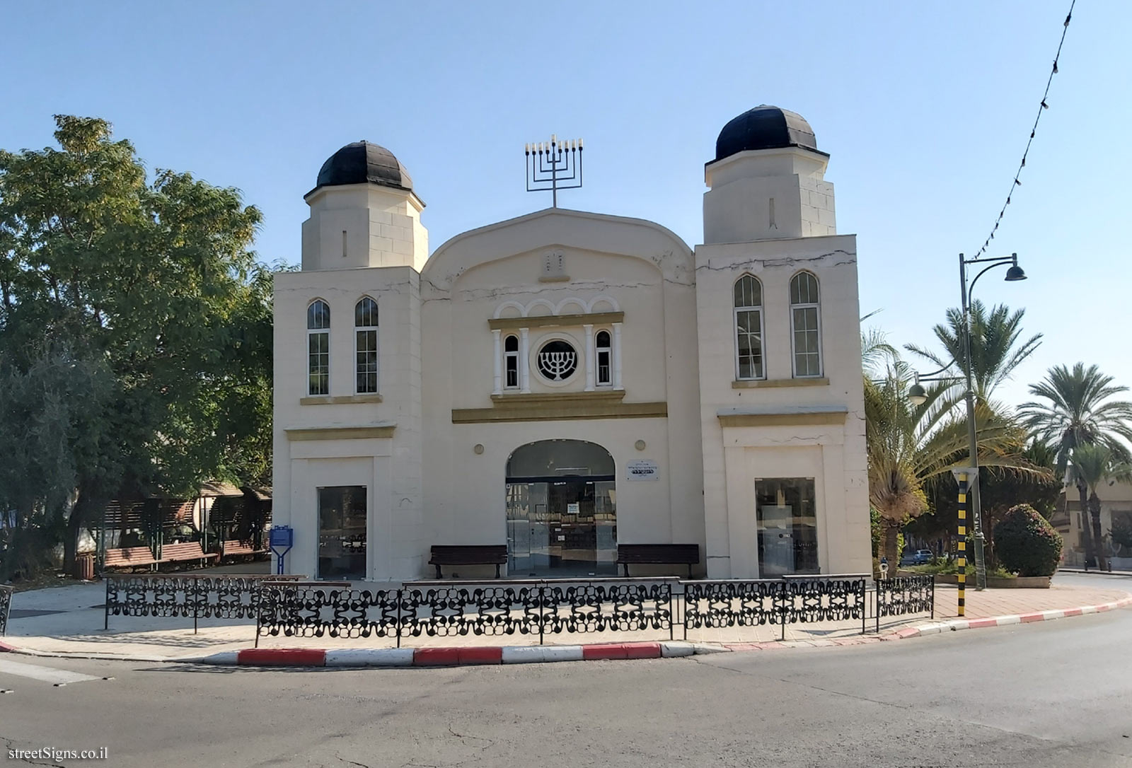 Heritage Sites in Israel - The Great Synagogue  - Mohiliver St 12, Mazkeret Batya, Israel