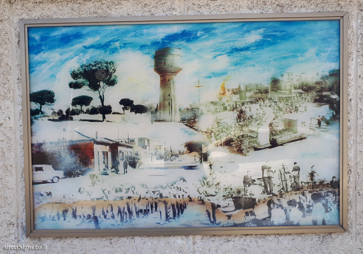 "The wall of art - ""Between Two Hills"" - Picture 6 - Weizman St 26, Giv'atayim, Israel"