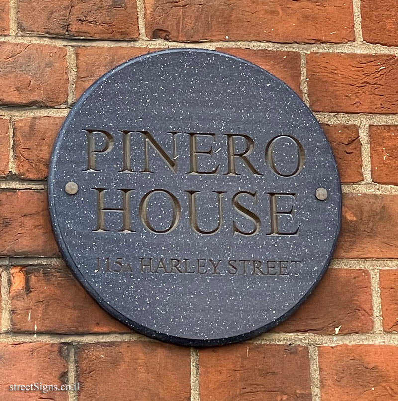 PINERO HOUSE - 115A HARLEY STREET, LONDON, UK