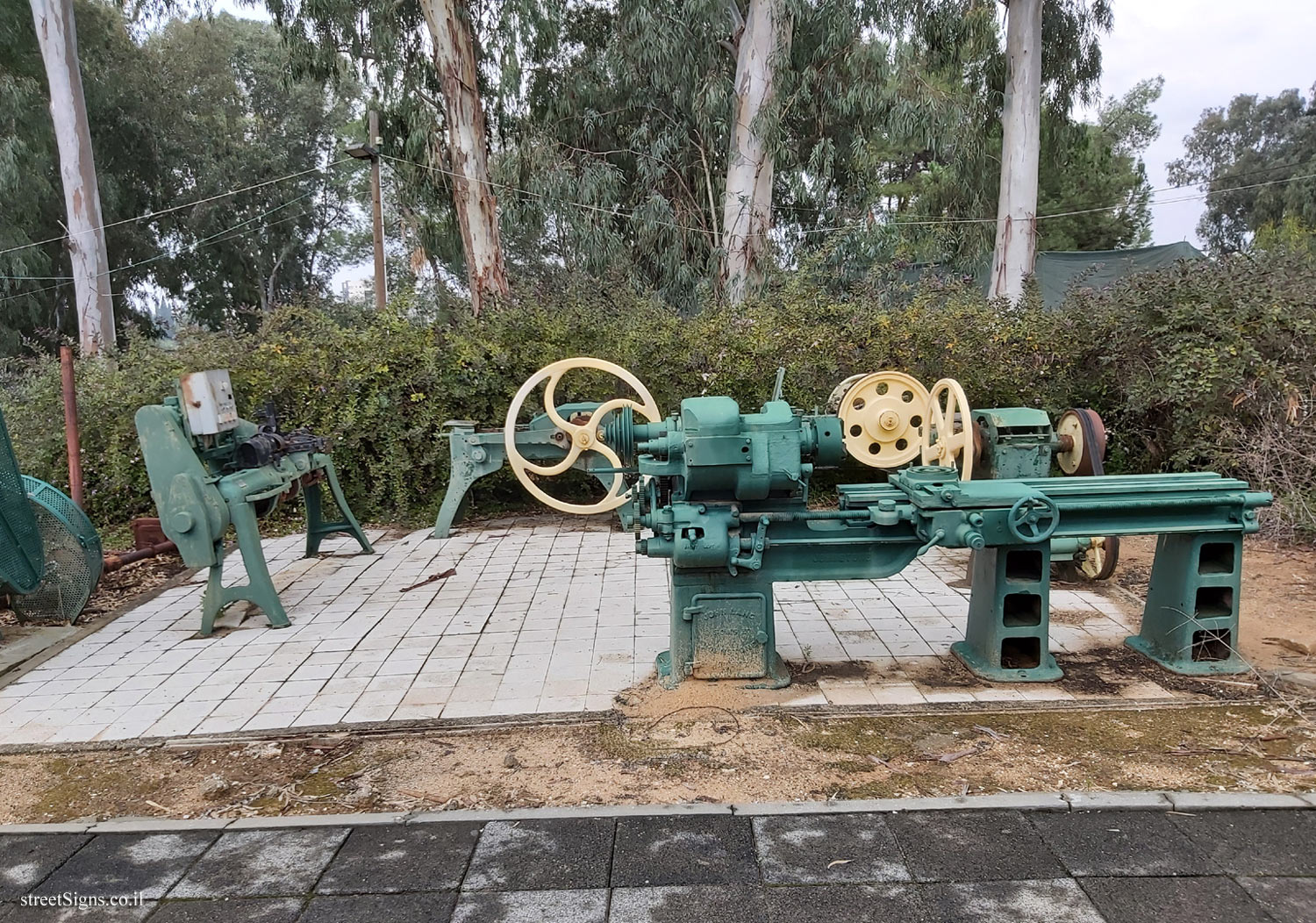 Rehovot - Heritage Sites in Israel - Ayalon Institute - The machines for making weapons - David Fikes St 1, Rehovot, Israel