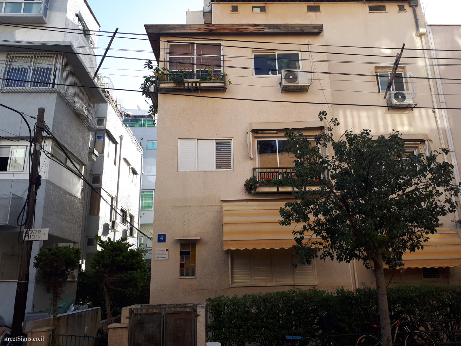The house of Meir Pichhadze - Emile Zola St 4, Tel Aviv-Yafo, Israel