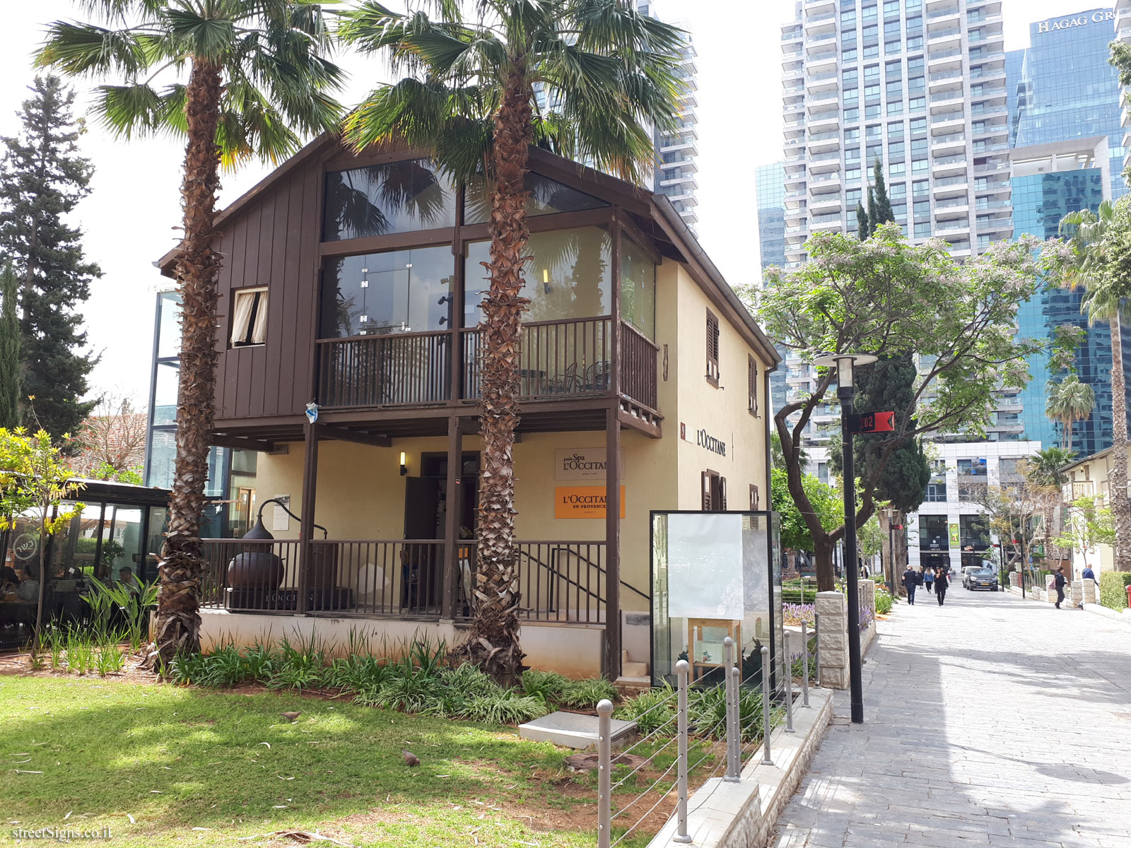 Tel Aviv - Sarona complex - buildings for preservation - Wennagel House