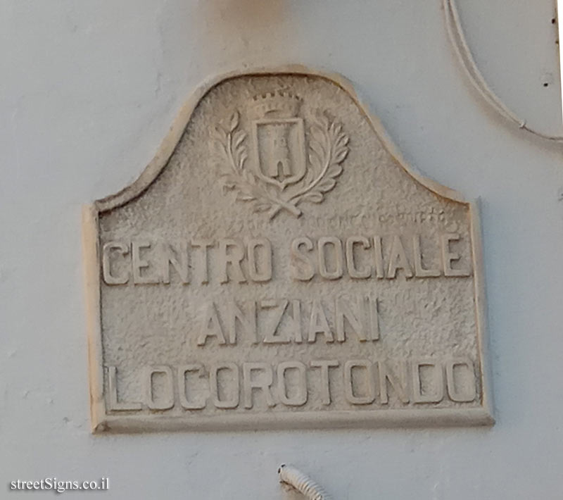 Locorotondo - Elderly Social Center
