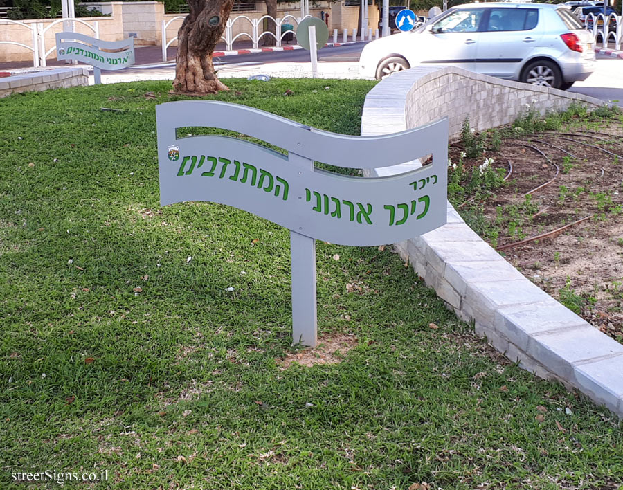 Givatayim - Volunteers Organization Square
