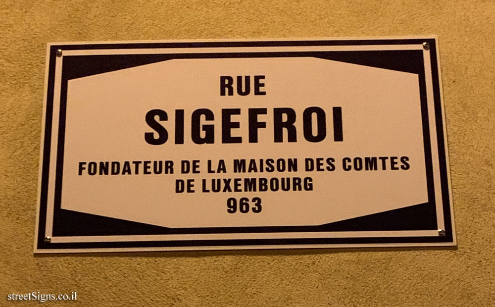 Luxembourg - Siegfried St