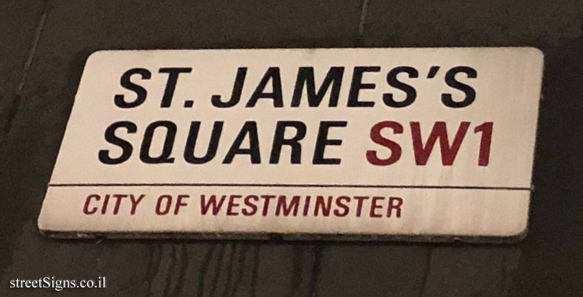 London - Westminster - St. James Square